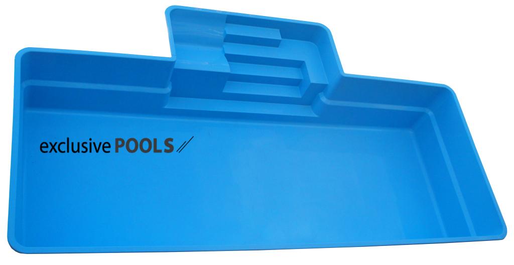 Чаша для бассейна Exclusive Pools Comfort Pool 9,20x5,00x1,55 м