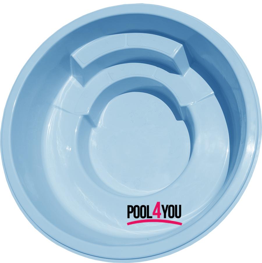 Чаша для бассейна POOL4YOU Hebe 2,35x2,35x0,86 м