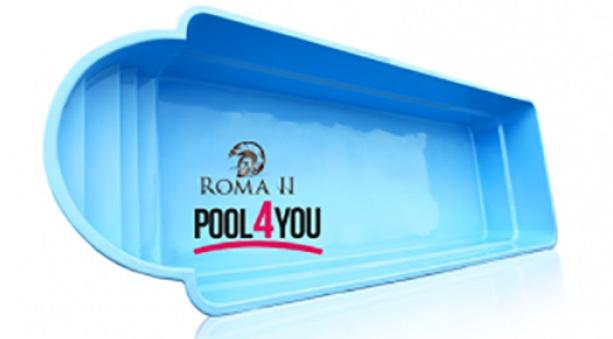 Чаша для бассейна POOL4YOU Roma II 9,30x3,25x1,55 м
